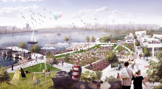 Regeneracja poolimpijskiej dzielnicy w Seulu – projekt BXBstudio