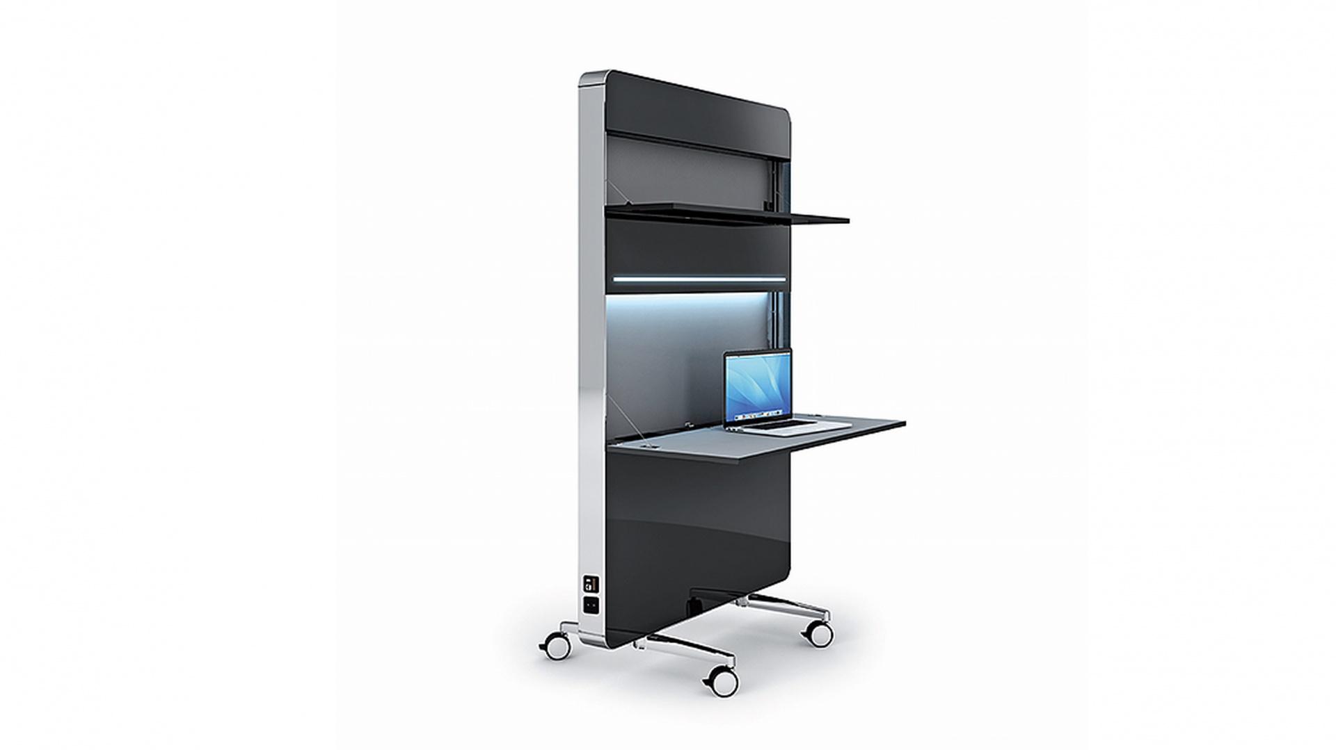 Mobilne e-stanowisko pracy Nomado, zaprojektowane przez Martina Ballendata dla firmy Mobica. Fot. GDA