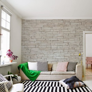 Elegancki kamień to propozycja do stonowanych stylistycznie wnętrz. Fot. Pixers.
