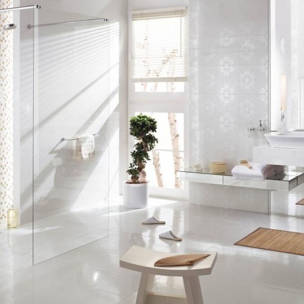Białe płytki ceramiczne - 12 modnych kolekcji