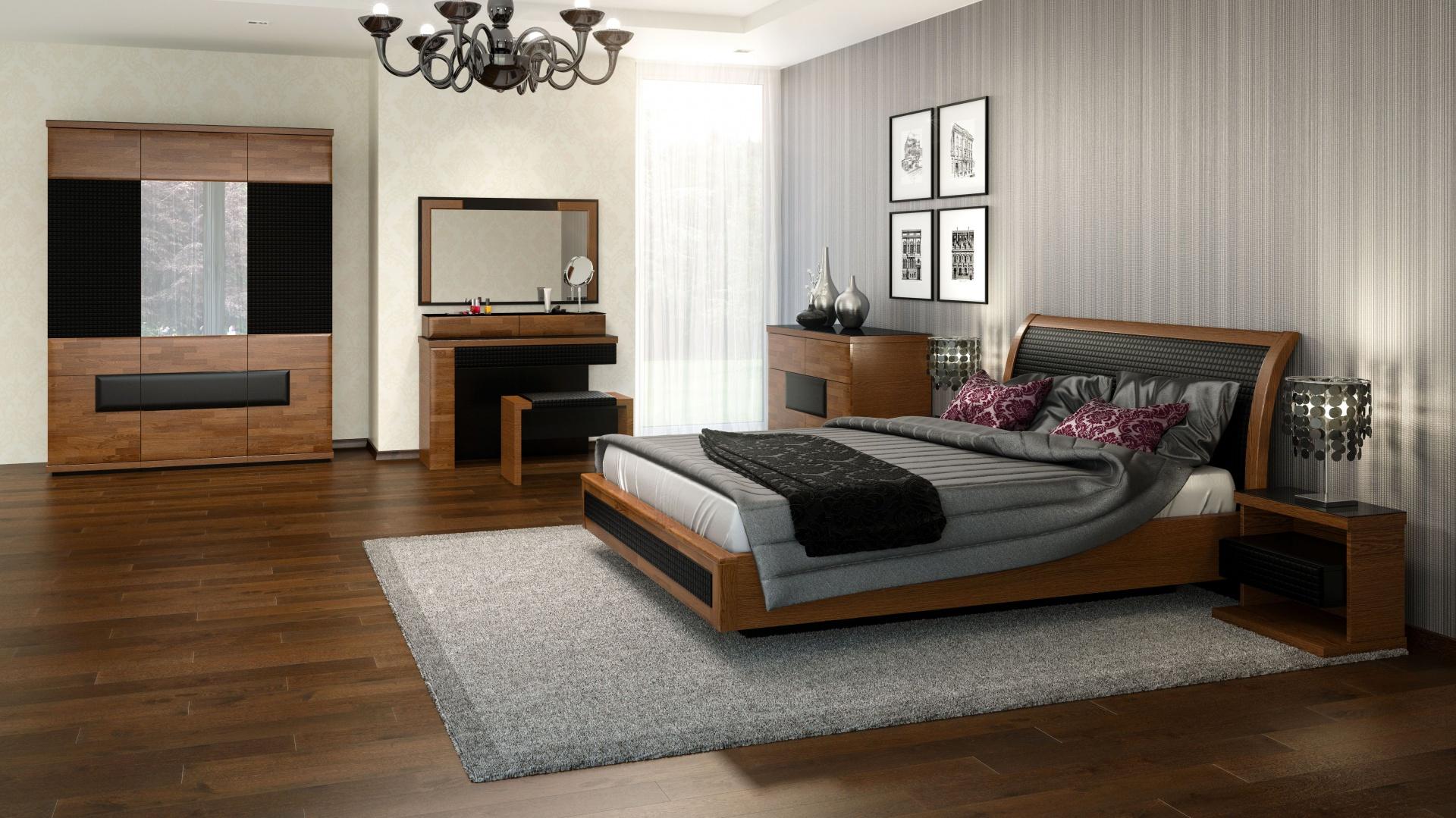 Poważne Meble do sypialni z rysunkiem drewna. 15 nowości WM48