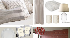 Projektant pomaga w doborze koloru ścian, zasłon i dodatków do sypialni.