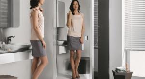 Dzięki nowym technologiom, lustra są tak odporne na wodę, że nadają się do kabin prysznicowych. To sprawia, że w prysznicu można się przeglądać. Poza tym kabina znika z przestrzeni łazienki i ją powiększa.