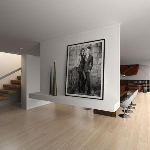 Panele podłogowe Dąb Cassano Chiaro z kolekcji Dynamic Long z oferty marki Ruck Zuck. Fot. RuckZuck.