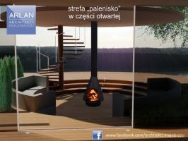 ARLAN Architekci Krajobrazu - Ogród SPA w Zbicznie, projekt 2015