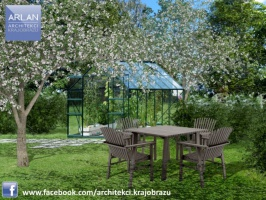 ARLAN Architekci Krajobrazu - ogród naturalistyczny w Wielkiej Nieszawce, projekt 2015