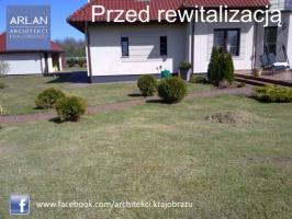 ARLAN Architekci Krajobrazu - rewitalizacja ogrodu w Grabowcu, realizacja 2013