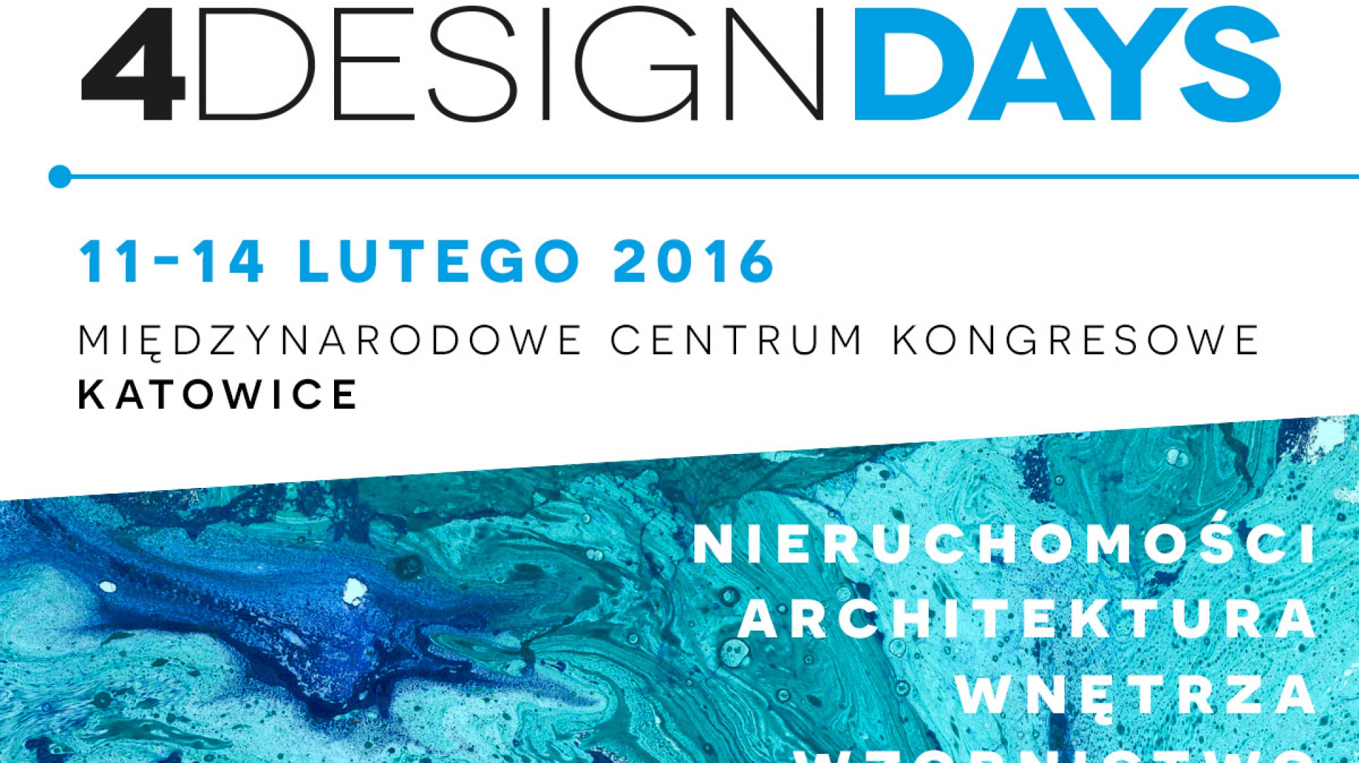 Fot. Plakat prasowy 4Design Days