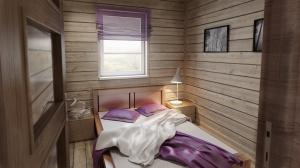 jedna z sypialni na parterze