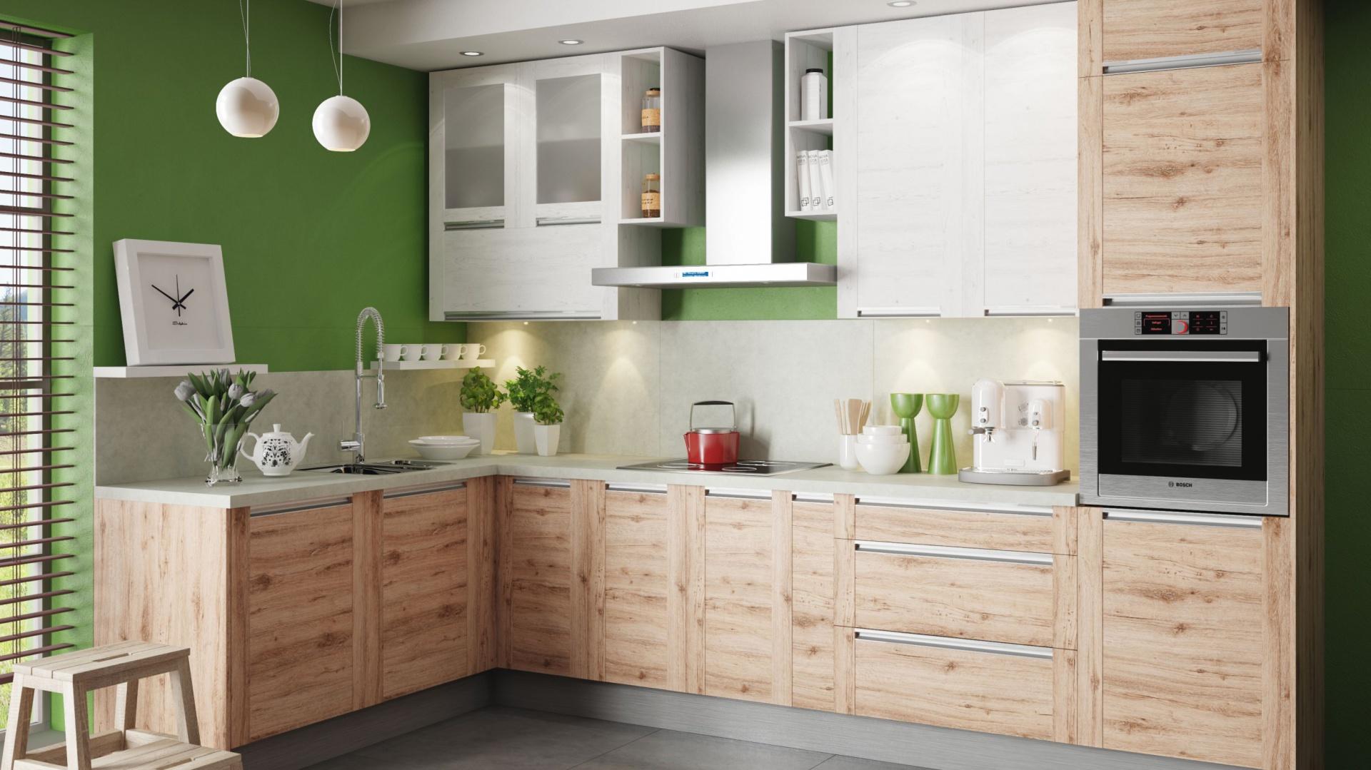 Kuchnia W Kolorze Drewna 12 Pięknych Zdjęć