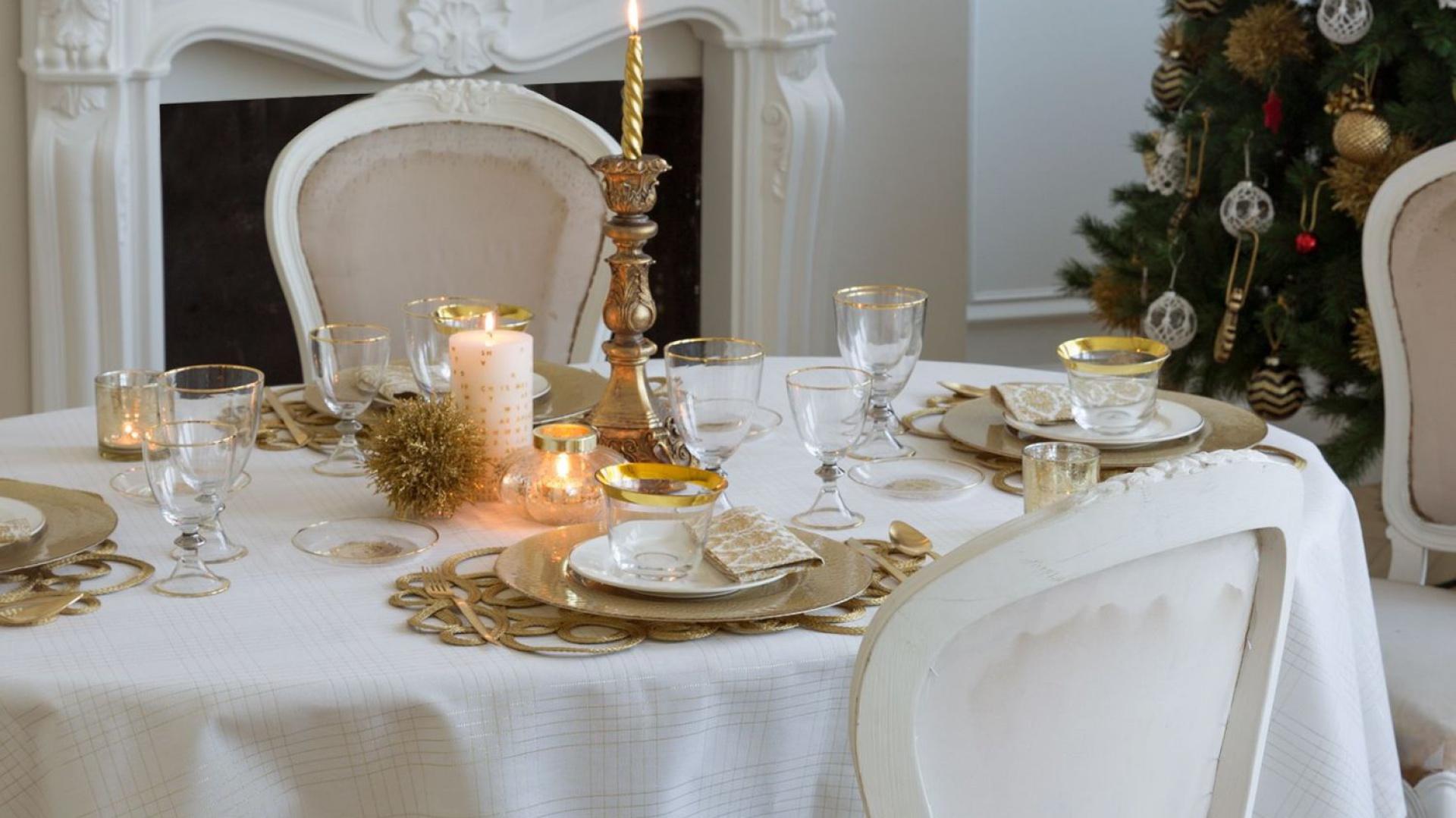 Stół Na święta 12 Pięknych Zdjęć
