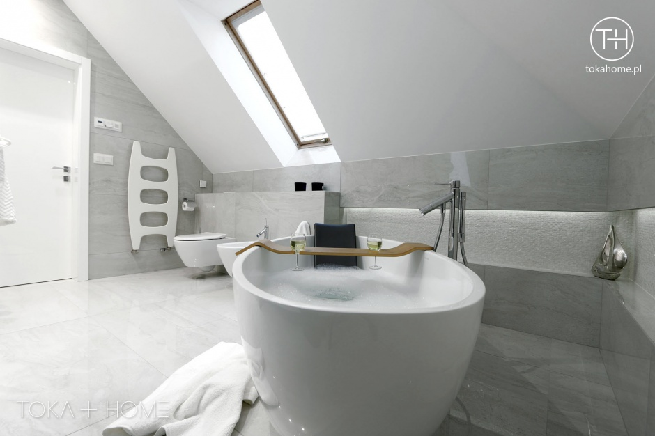Realizacja Architekta Strefa Relaksu łazienka Z Wanną