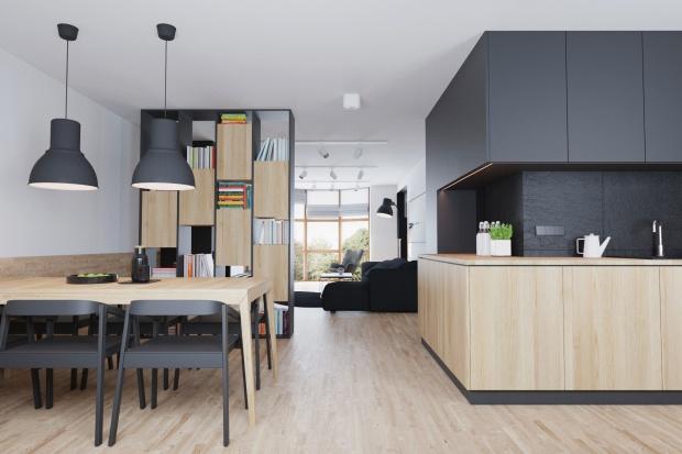 Nowoczesne wnętrze: małe mieszkanie w Lublinie
