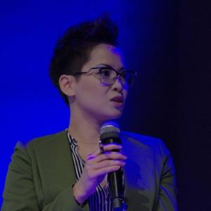 Natalia Nguyen, architekt, aktorka, miłośniczka designu, prezenterka telewizyjna. Fot. Piotr Waniorek.