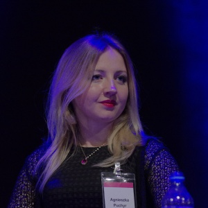 "Agnieszka Puchyr, architekt, autorka bloga panidyrektor.pl, twórca programu ""PROMOCJA ARCHITEKTURY"". Fot. Piotr Waniorek."