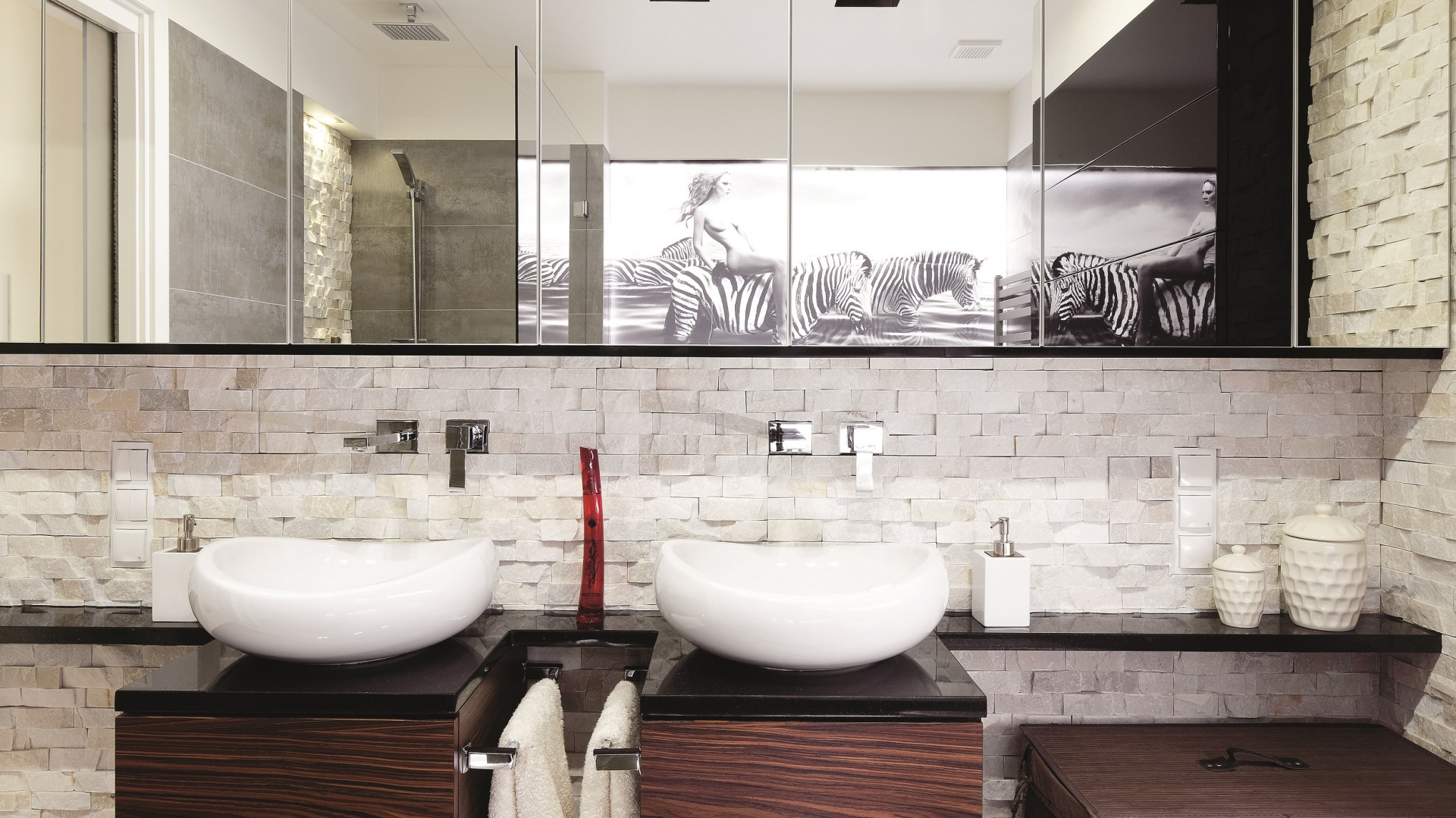 Mała łazienka 15 Pomysłów Na Oświetlenie