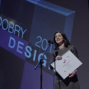 Wyróżnienie w kategorii AGD - dyplom odebrała Agnieszka Poliszewska-Ostrowska, specjalista ds. marketingu JURA Poland. Fot. Piotr Waniorek.