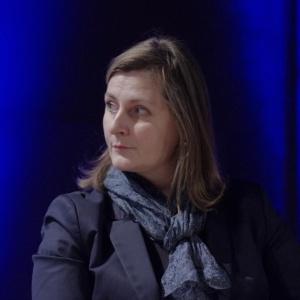 Aleksandra Krawsz, marketing & PR manager, Kinnarps Polska mówiła o tym czym charakteryzują się nowoczesne meble dedykowane do przestrzeni biurowych. Fot. Piotr Waniorek.
