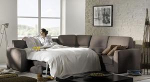 Sofa to podstawowy element wyposażenia każdego salonu. Modele z funkcją spania łączą estetykę z funkcjonalnością.