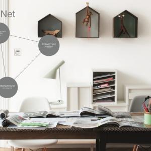 Berker.Net to nowa platforma elektroniki w ramach osprzętu elektroinstalacyjnego marki Berker. Najprościej mówiąc, składa się z elementów elektronicznych, które wchodzą w miejsce zwykłych włączników, pozwalając na sterowanie oświetleniem i roletami. Fot. Berker.