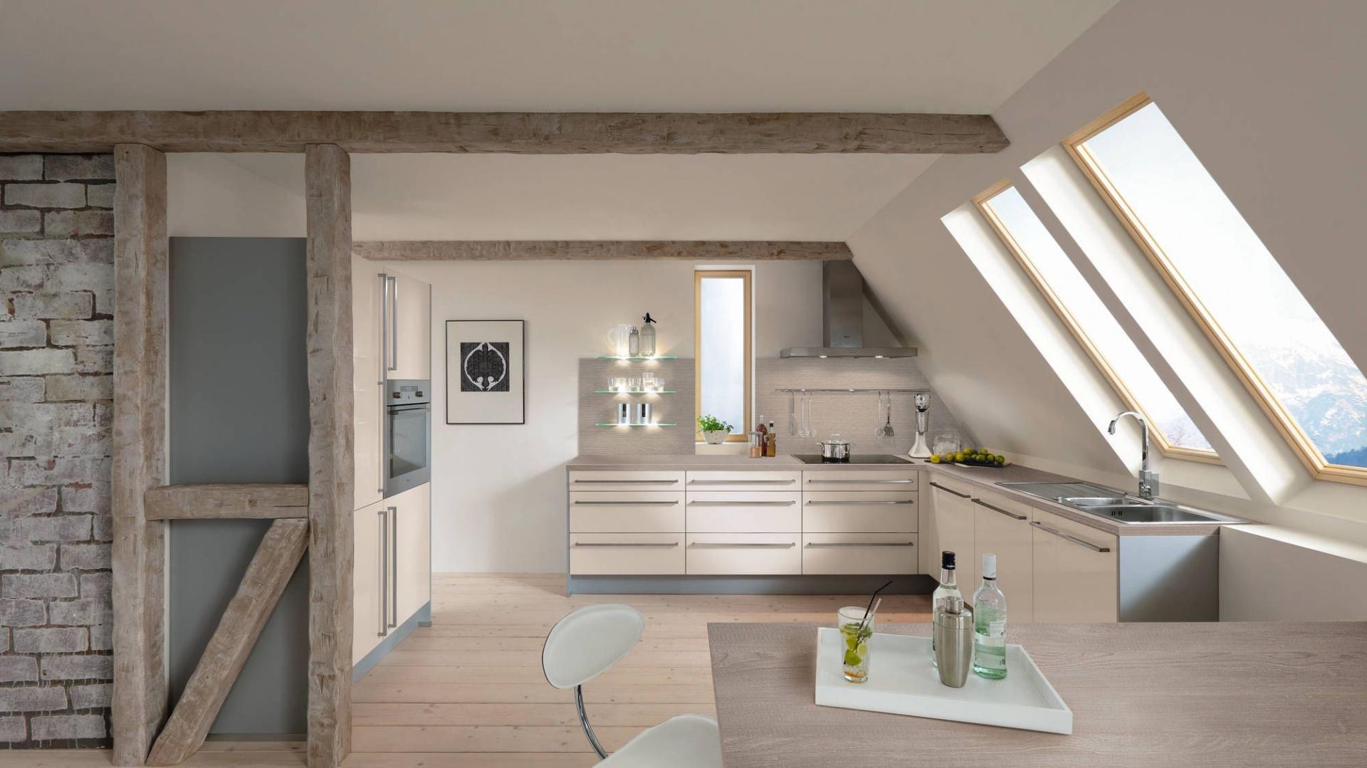 jasna kuchnia na poddaszu z kuchnia na poddaszu tak j urz dzisz strona 2. Black Bedroom Furniture Sets. Home Design Ideas