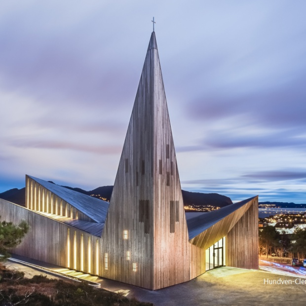 Kościół w Knarvik: współczesna architektura sakralna
