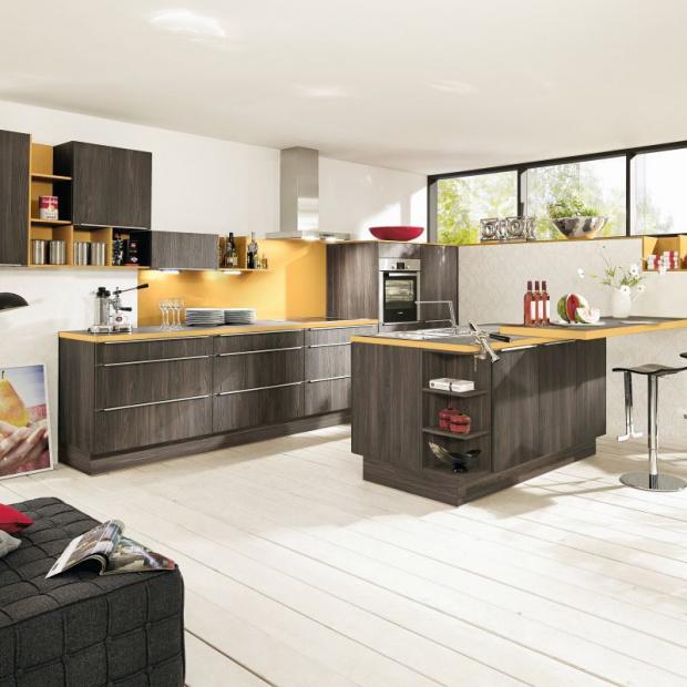 Kuchnia w kolorze drewna: 12 pięknych zdjęć