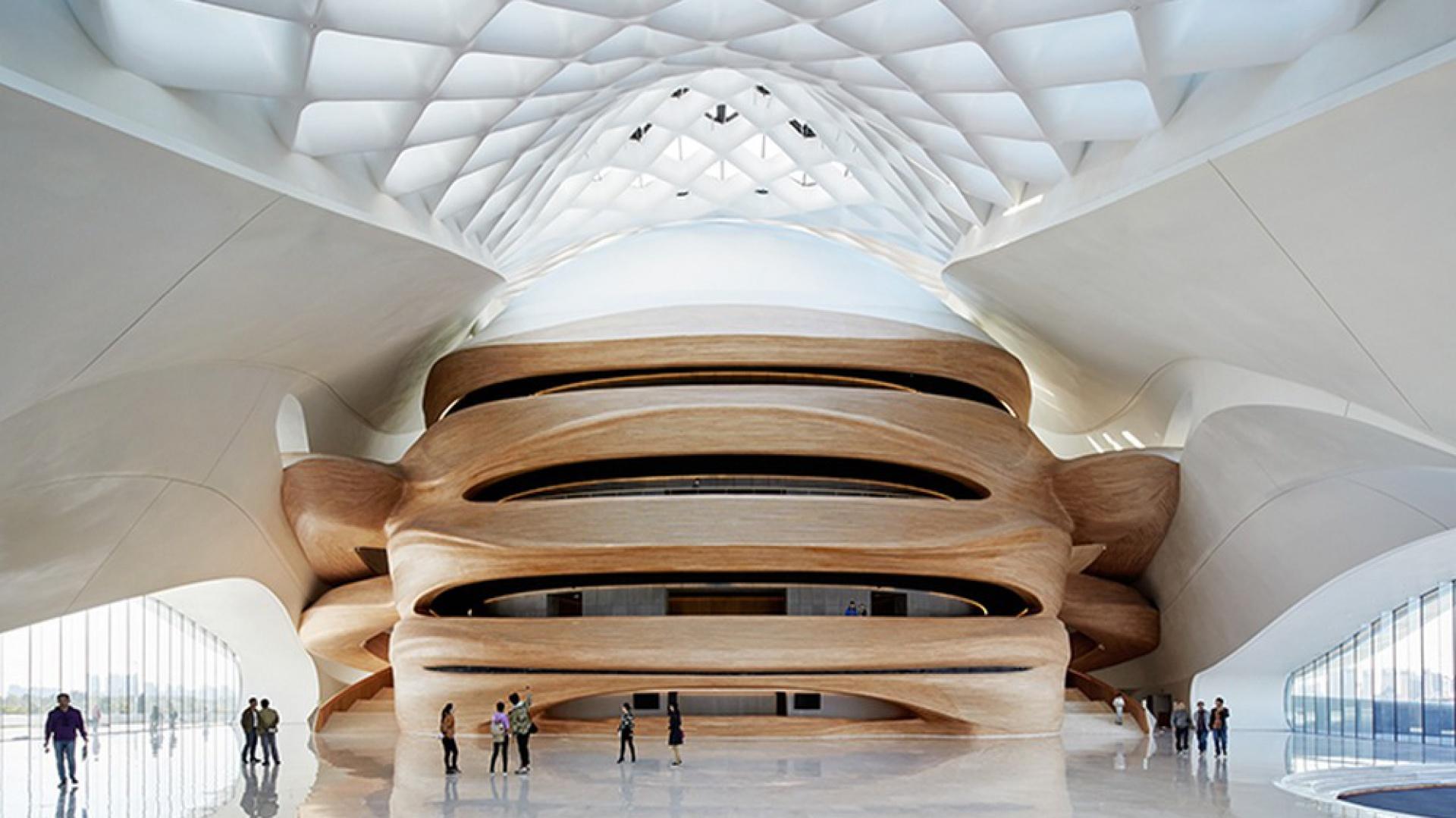 Harbin Opera House w Chinach. Fot. MAD/Hufton+Crow/Adam Mørk
