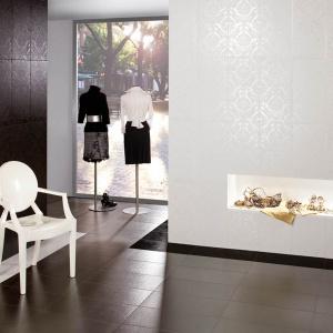 Jak wycięte z kunsztownej tkaniny – płytki ceramiczne Magna firmy Azulejera Alcorense. Fot. Azulejera Alcorense.
