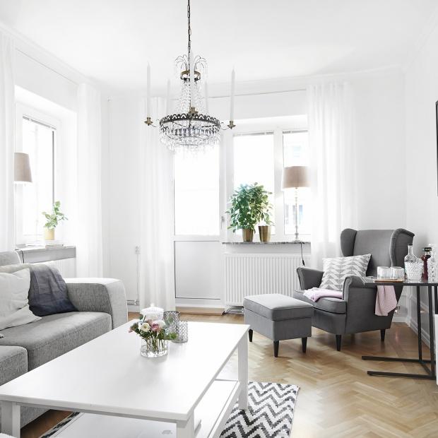 Białe wnętrze. Zobaczcie piękne, eleganckie mieszkanie