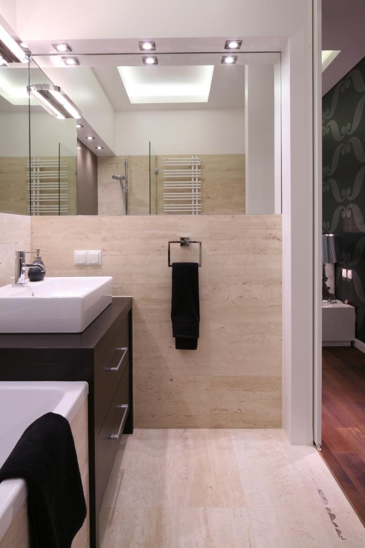 Remont Małej łazienki 12 Sposobów Na Oświetlenie Galeria