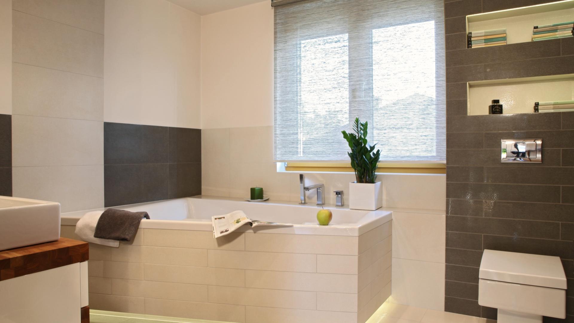 Beżowe łazienki Pomysły Do Małych Wnętrz