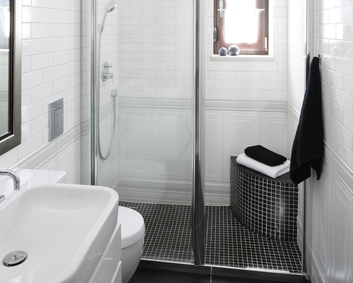 Wąska łazienka – projekt na 5 metrów