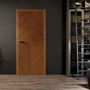 Drzwi na bazie litego drewna, wykończone naturalnymi okleinami najwyższej jakości, dodatkowo zabezpieczone ekologicznym lakierem - jakość i solidność cechująca kolekcję. Drzwi dostępne są w 4 kolorach, które podkreślają niepowtarzalne, naturalne piękno drewna. Fot. Vox.