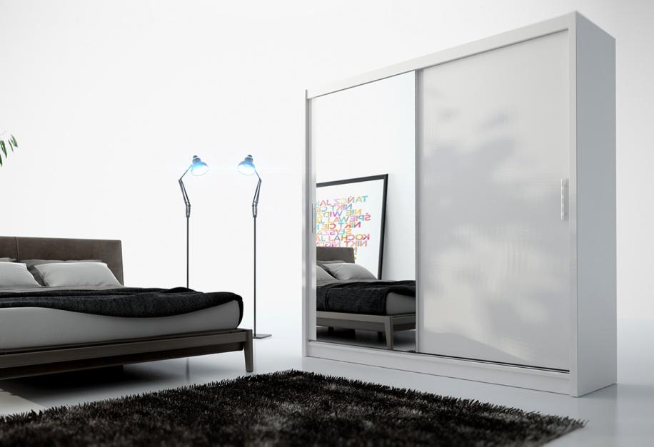 Nowoczesna szafa Capri....  Garderoba w sypialni. Wygodne i funkcjonalne rozwiązania  Strona: 10