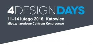 Przed nami ostatnie dni rejestracji na 4 Design Days. Jeśli chcecie wziąć udział w dniach dla profesjonalistów 11 i 12 lutego, macie czas do piątku 5 lutego.