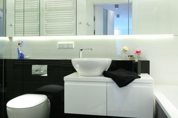 Mała łazienka z pralką - gotowy projekt na 6 metrów