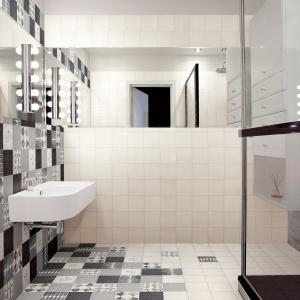 Nadają się na podłogę i ściany - płytki ceramiczne jak patchwork Caterina Sforza firmy Cedir. Fot. Cedir.