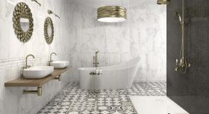 Wzór patchworku sprawia, że łazienka staje się przytulna i domowa. To wzór jedyny w swoim rodzaju i zawsze niepowtarzalny. Łatwo go ułożyć z płytek ceramicznych, zwłaszcza na podłodze.