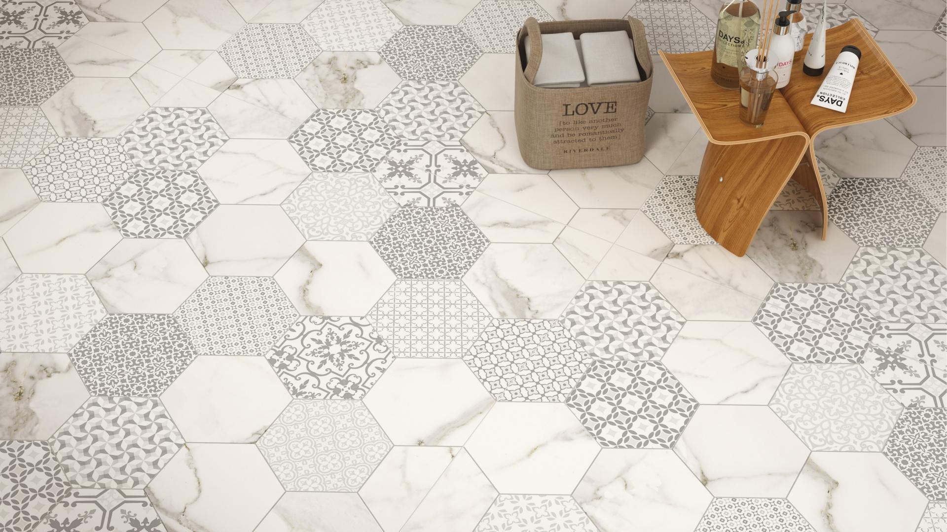 Jak tkanina zszyta z marmurem - płytki ceramiczne Infitity firmy Fondovalle. Fot. Fondovalle.
