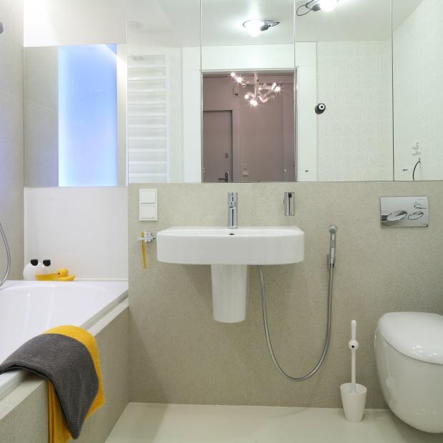 Mała łazienka – gotowy projekt na 5 metrów w bloku