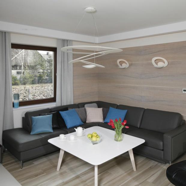 Salon w domu jednorodzinnym. Inspirujące pomysły