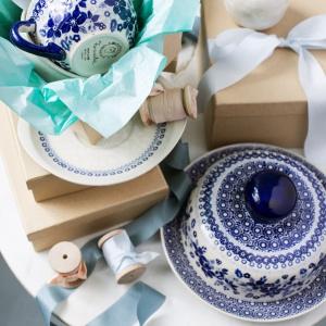 Kolekcja ceramiki Blue. Fot. Manufaktura w Bolesławcu