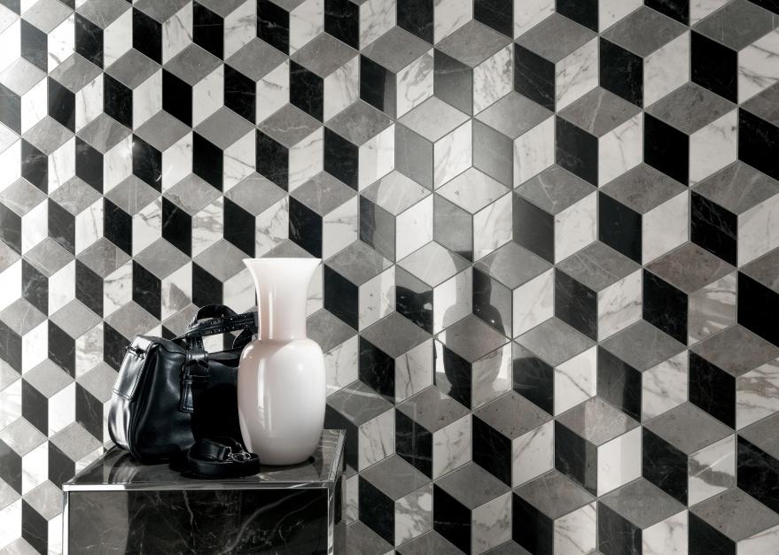 Ich trójwymiarowość to...  Modna łazienka – płytki ceramiczne z efektem 3D  Strona: 7