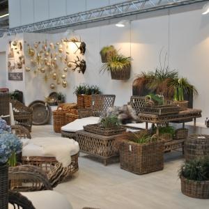 Szeroka ofertę zaprezentowali także producenci akcesoriów ogrodowych. Fot. Alicja Pietrowska.