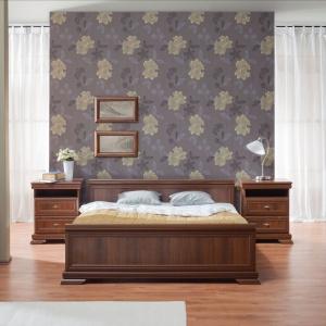 Kolekcja Kora idealna propozycja dla osób, które cenią klasyczną elegancję. W ramach zestawu dostępne są również elementy do aranżacji salonu , gabinetu i jadalni. Fot. Gała Meble.