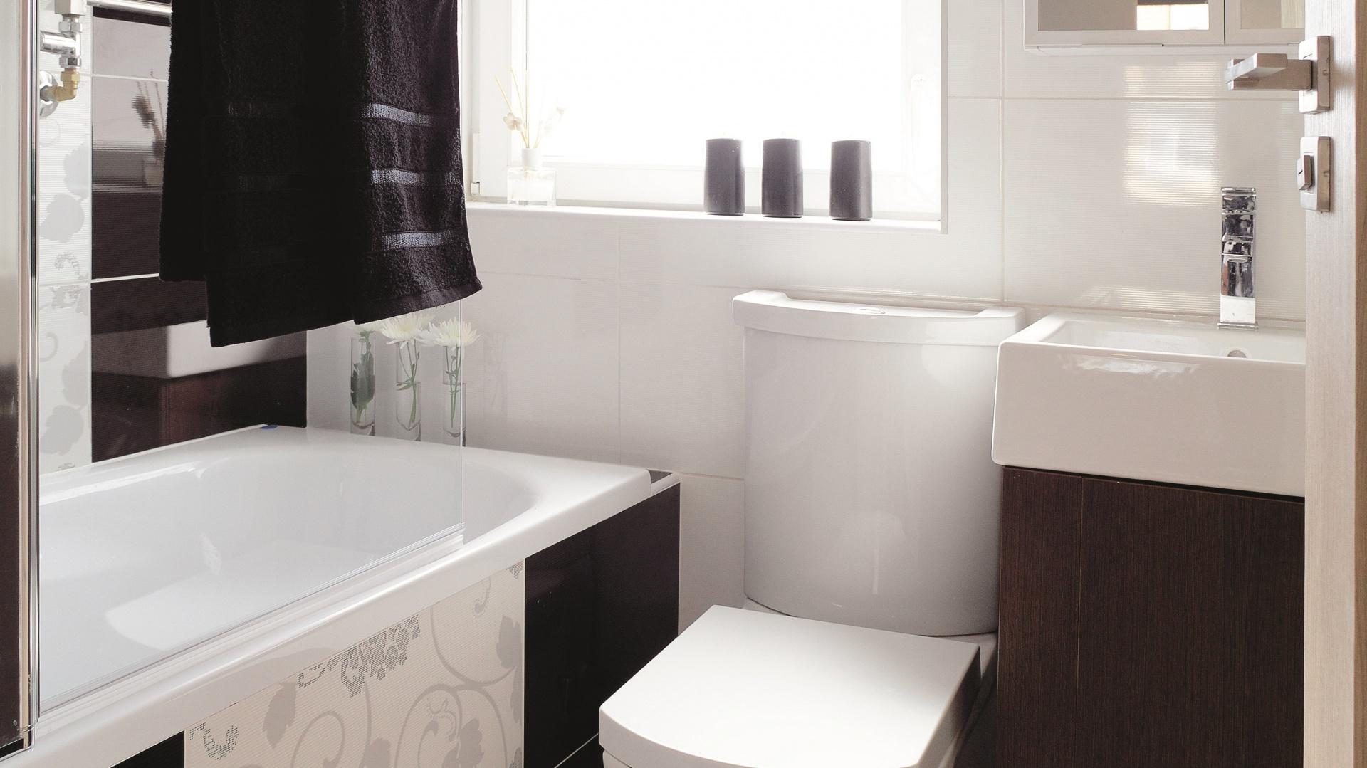 Mała łazienka Gotowy Projekt Na 3 Metry Z Wanną