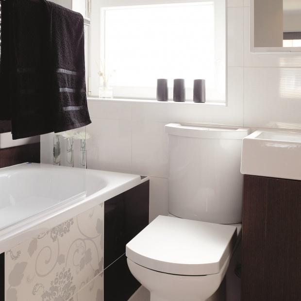Mała łazienka – gotowy projekt na 3 metry z wanną