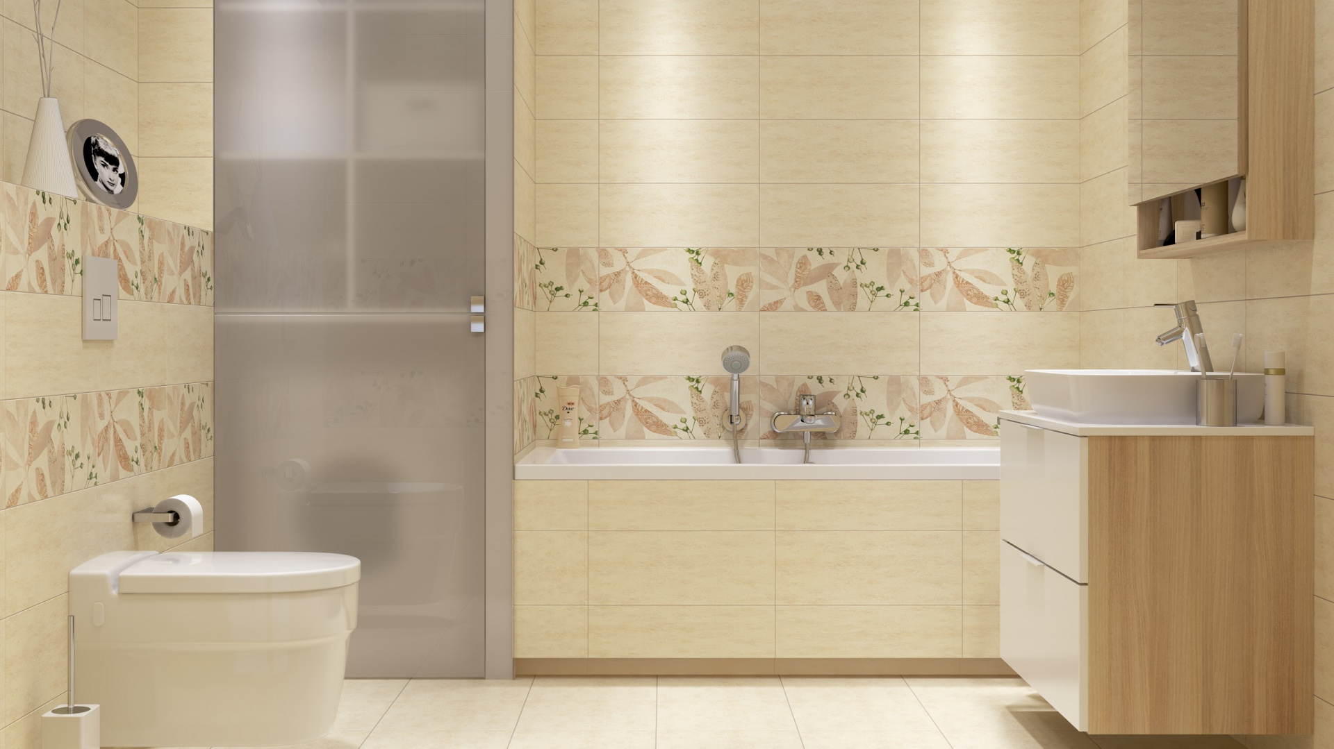 Beżowe Płytki 10 Pomysłów Do Małej łazienki