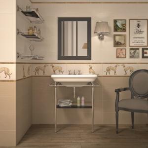 W odcieniu beżu jak cappuccino - płytki ceramiczne Wall Greyhound firmy Flaviker. Fot. Flaviker.